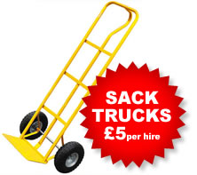 Sack Truck Hire - £5 per day